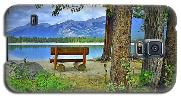 Galaxy S5 Case featuring the photograph Resting Place At Lake Annette by Tara Turner