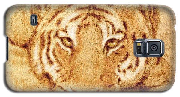 Resting Tiger Galaxy S5 Case