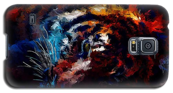 Resting Tiger Galaxy S5 Case