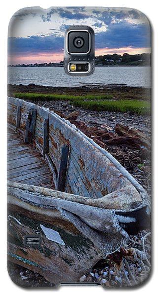 Galaxy S5 Case featuring the photograph Retired Boat, Harpswell, Maine #252437 by John Bald