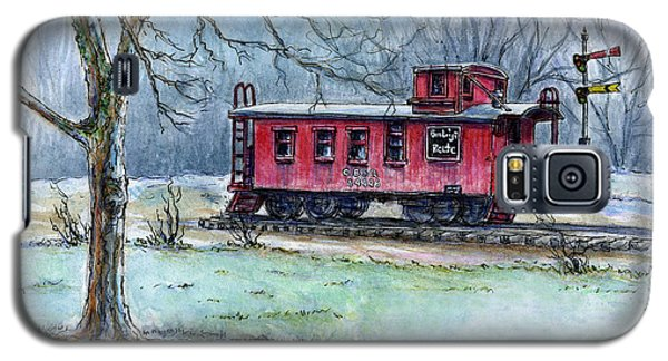 Retired Red Caboose Galaxy S5 Case