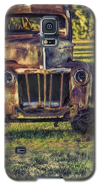 Retired Wrecker Galaxy S5 Case by Linda Blair
