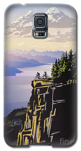 Retro Beautiful Bc Travel Poster Galaxy S5 Case