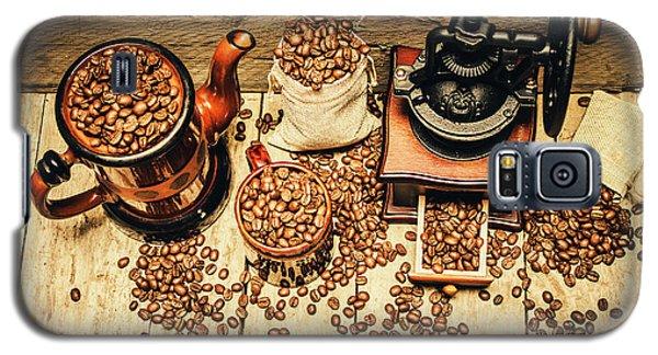 Retro Coffee Bean Mill Galaxy S5 Case