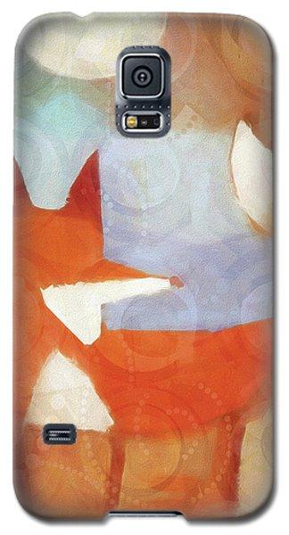Retro Fox Galaxy S5 Case