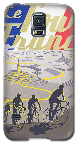 Retro Tour De France Galaxy S5 Case