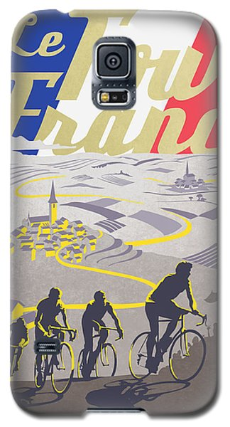 Retro Tour De France Galaxy S5 Case by Sassan Filsoof