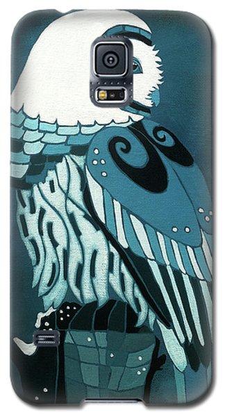 Retrospect In The Moonlight Owl Galaxy S5 Case