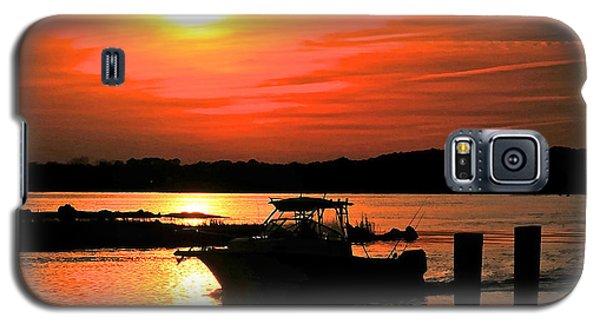 Return At Sunset Galaxy S5 Case