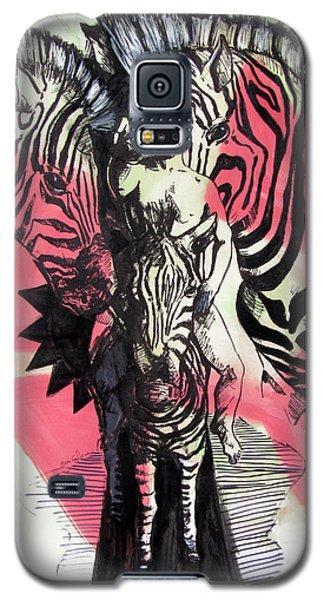 Return Of Zebra Boy Galaxy S5 Case