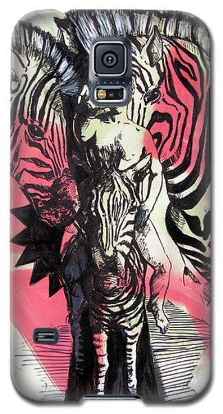 Return Of Zebra Boy Galaxy S5 Case