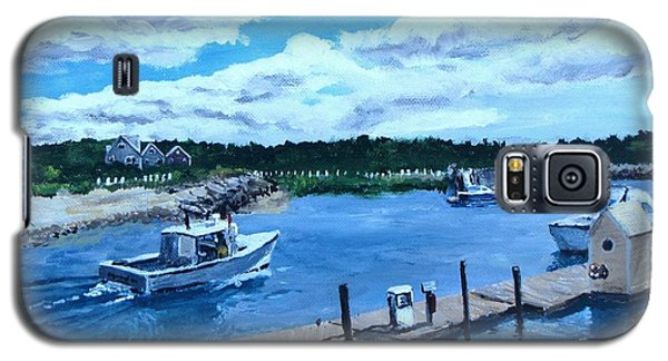 Returning To Sesuit Harbor Galaxy S5 Case by Jack Skinner