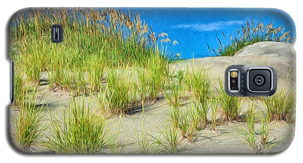 Galaxy S5 Case featuring the painting Reunion by Dan Carmichael