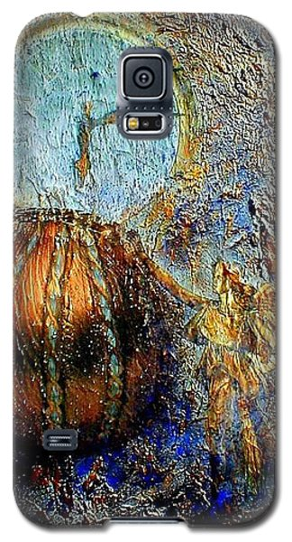 Galaxy S5 Case featuring the mixed media Revelation by Gail Kirtz