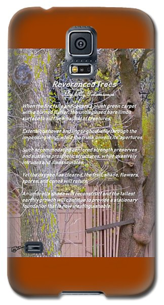 Reverence Of Trees Galaxy S5 Case
