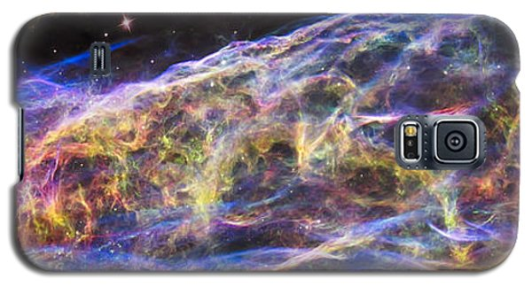 Galaxy S5 Case featuring the photograph Revisiting The Veil Nebula by Adam Romanowicz