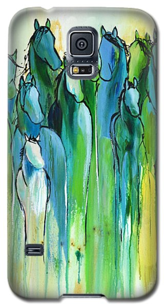 Galaxy S5 Case featuring the painting Revive by Cher Devereaux
