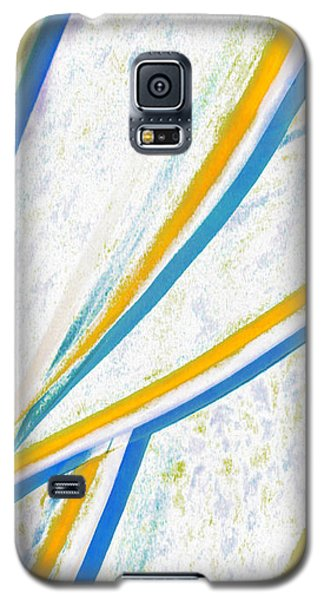 Galaxy S5 Case featuring the digital art Rhapsody In Leaves No 1 by Ben and Raisa Gertsberg