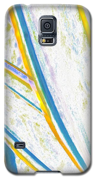Galaxy S5 Case featuring the digital art Rhapsody In Leaves No 2 by Ben and Raisa Gertsberg