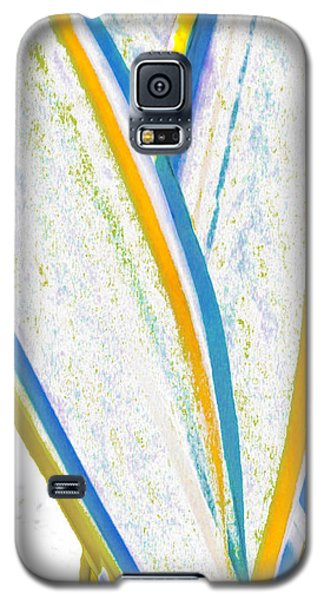 Galaxy S5 Case featuring the digital art Rhapsody In Leaves No 3 by Ben and Raisa Gertsberg