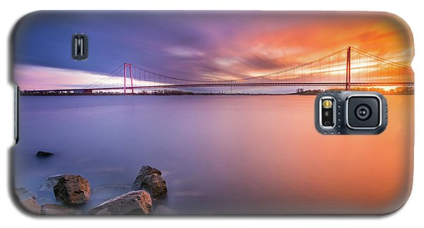 Rhine Bridge Sunset Galaxy S5 Case