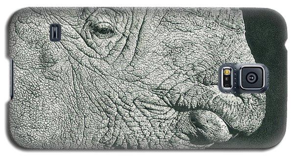 Rhino Pencil Drawing Galaxy S5 Case