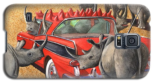 Rhinos Red Rambler Galaxy S5 Case