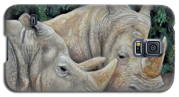 Rhinos Galaxy S5 Case by Sam Davis Johnson