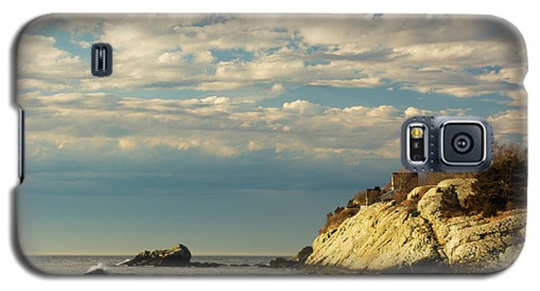 Rhode Island Beach In Winter Galaxy S5 Case