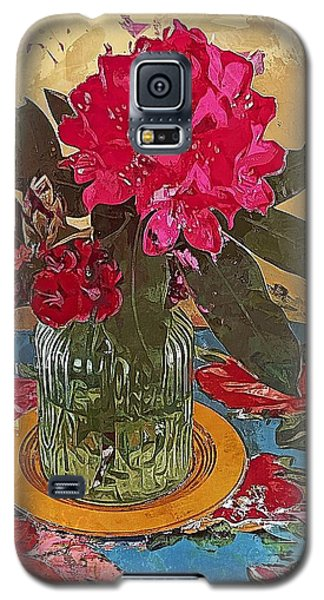 Rhododendron Galaxy S5 Case by Alexis Rotella