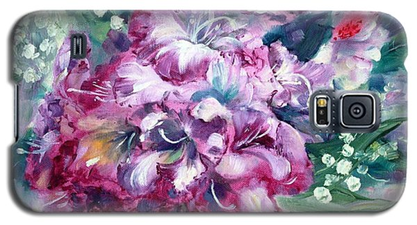 Rhododendron And Lily Of The Valley Galaxy S5 Case