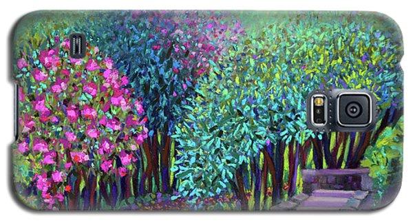 Rhododendrons In The Sunken Garden Galaxy S5 Case