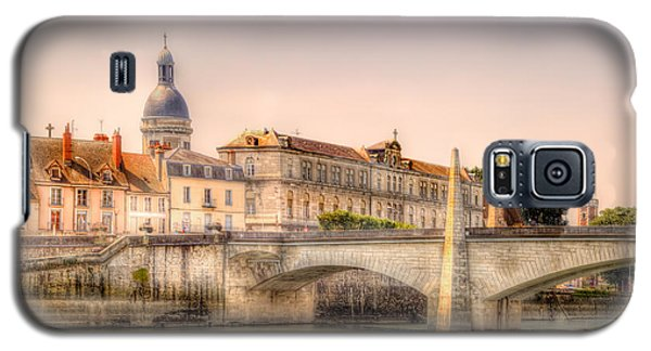 Bridge Over The Rhone River, France Galaxy S5 Case