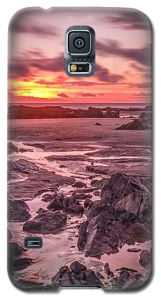 Rhosneigr Beach At Sunset Galaxy S5 Case