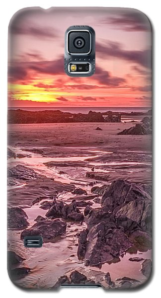 Rhosneigr Beach At Sunset Galaxy S5 Case