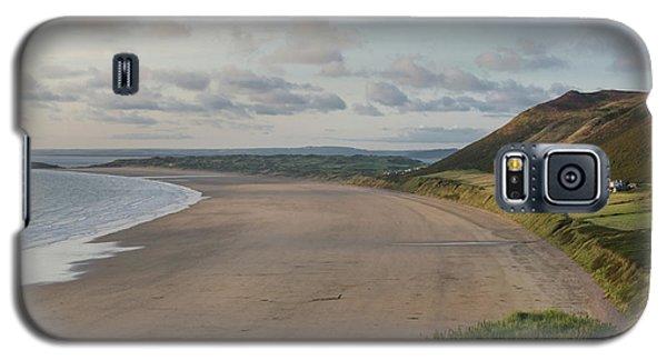 Rhossili Bay, South Wales Galaxy S5 Case