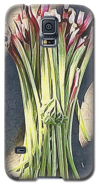 Rhubarb Galaxy S5 Case by Michele Meehl