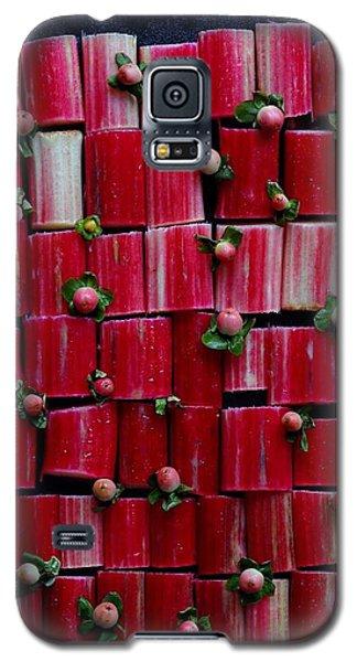 Rhubarb Wall Galaxy S5 Case