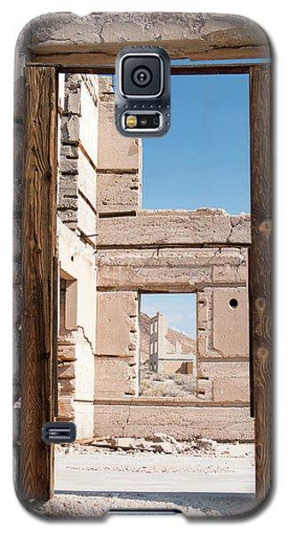 Rhyolite Through Windows Galaxy S5 Case