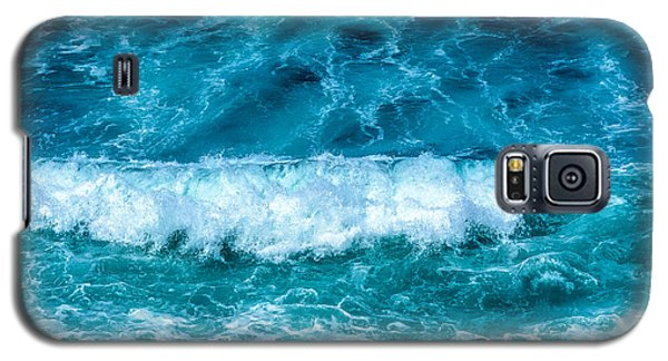 Galaxy S5 Case featuring the photograph Rhythm Of Waves by Marion McCristall