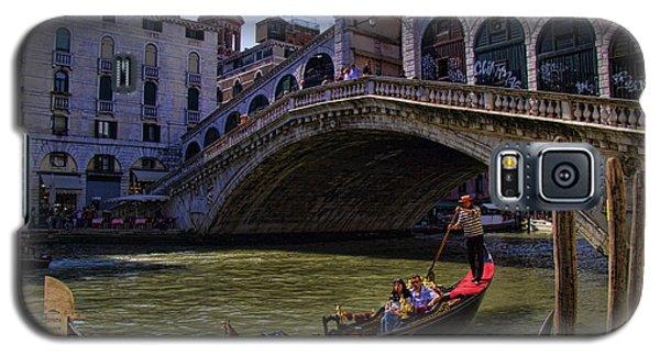 Rialto Bridge In Venice Italy Galaxy S5 Case