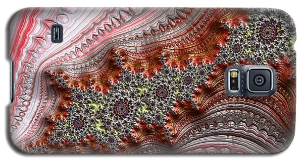 Ribbon Candy Crystals Galaxy S5 Case