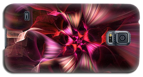 Ribbon Candy Rose Galaxy S5 Case