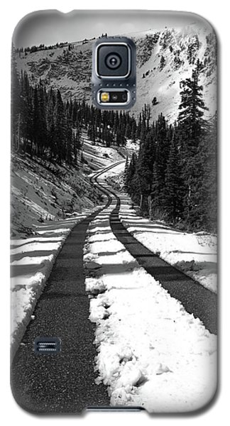 Ribbon To The Unknown Monochrome Art By Kaylyn Franks Galaxy S5 Case