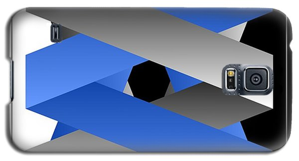 Galaxy S5 Case featuring the digital art Ribbons by Leo Symon