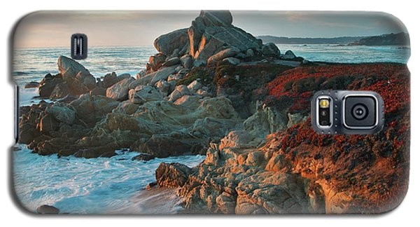 Ribera Beach Sunset Carmel California Galaxy S5 Case