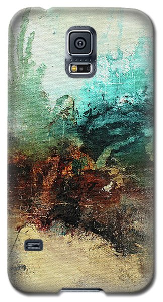 Rich Earth Tones Abstract Not For The Faint Of Heart Galaxy S5 Case