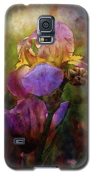 Rich Purple Irises 0056 Idp_22 Galaxy S5 Case