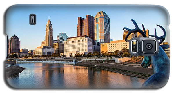 Rich Street Bridge Columbus Galaxy S5 Case