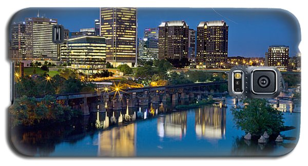Richmond Skyline Helo Trail Galaxy S5 Case